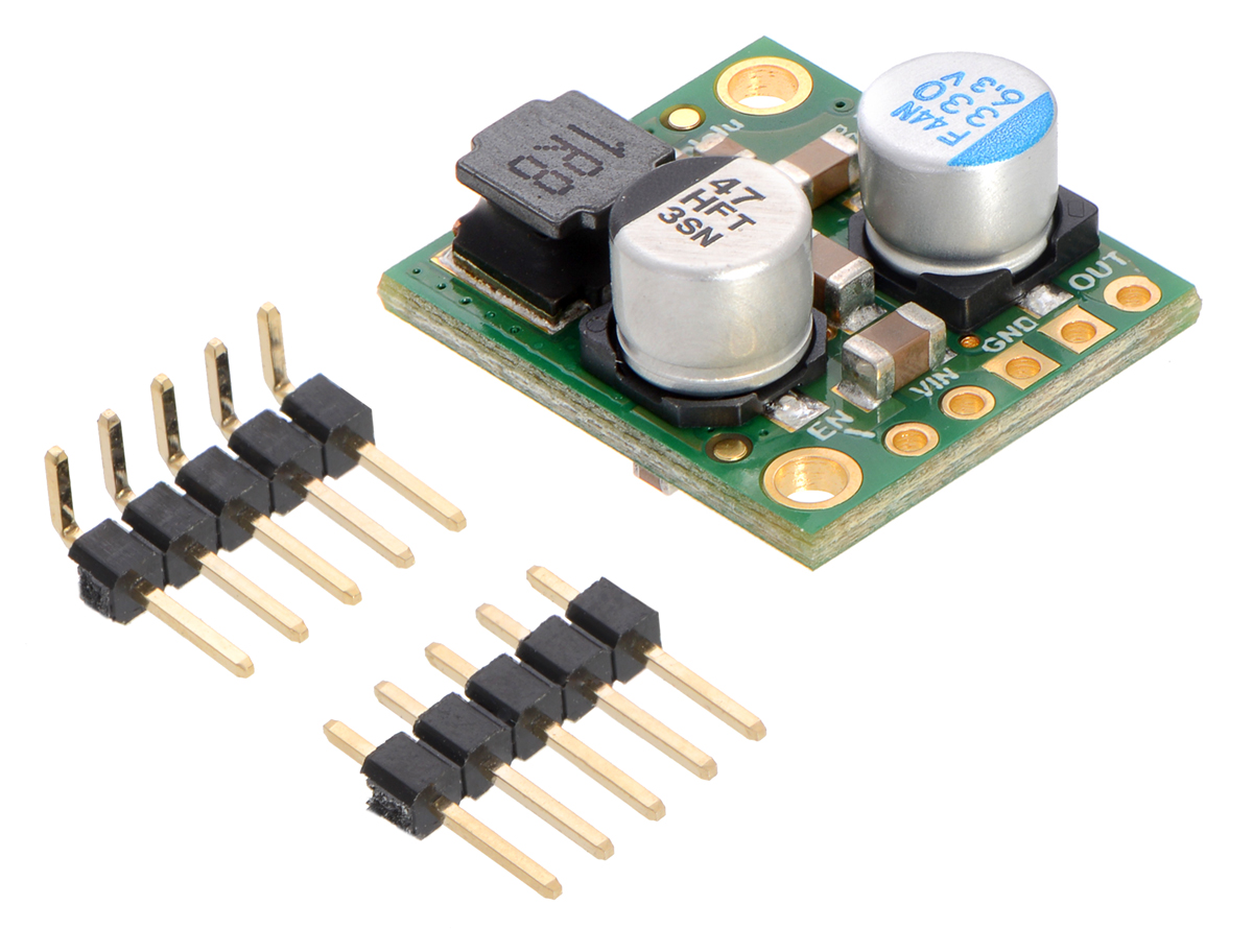 5A Step-Down Voltage Regulator D24V50F5 Pololu 5V