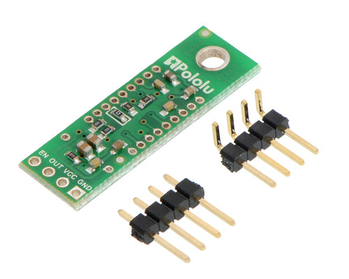 New products: Pololu Carriers for Sharp GP2Y0A60SZLF Analog Distance Sensor