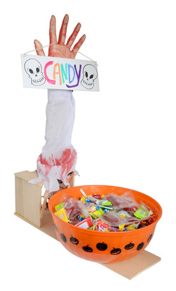 Candy bowl surprise