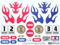 Tamiya 71113 Boxing Fighter Battle Set decoration/identification stickers.