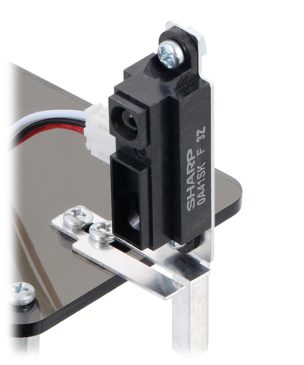 and GP2Y0A41 Distance Sensors Pololu Bracket Pair for Sharp GP2Y0A02 GP2Y0A21