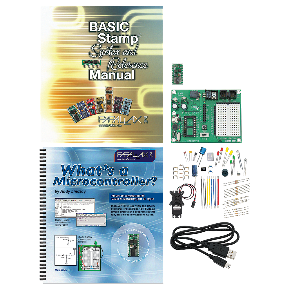 Pololu Parallax Basic Stamp Discovery Kit Usb 27807 Working Electronics Forum Circuits Projects And Microcontrollers