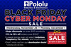 Coming soon: Pololu Black Friday/Cyber Monday Sale
