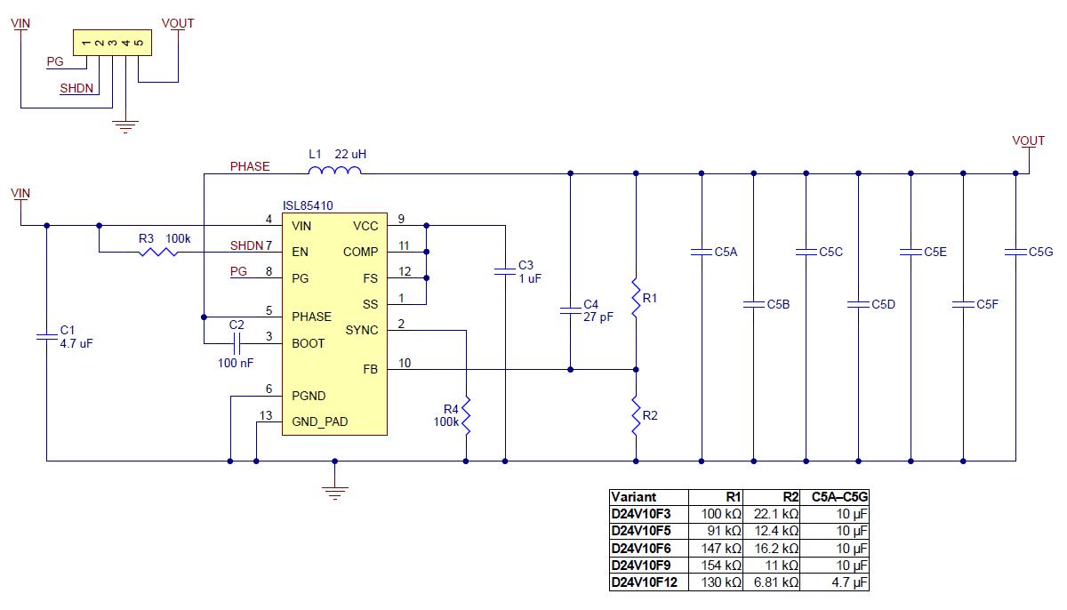Pololu 12v 1a Stepdown Voltage Regulator D24v10f12. Schematic Diagram For The Pololu D24v10fx Family Of 1 A Stepdown Voltage Regulators. Wiring. 12 Volt Voltage Regulator 4 Wiring Diagram At Scoala.co
