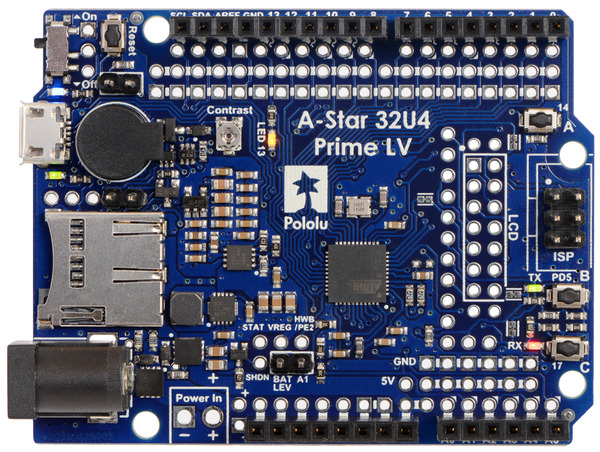 New product: A-Star 32U4 Prime LV