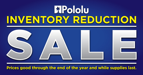 Year-end Inventory Reduction Sale