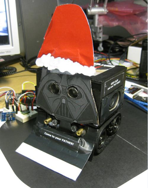 Darth Vader Santa Claus Sumo Bot