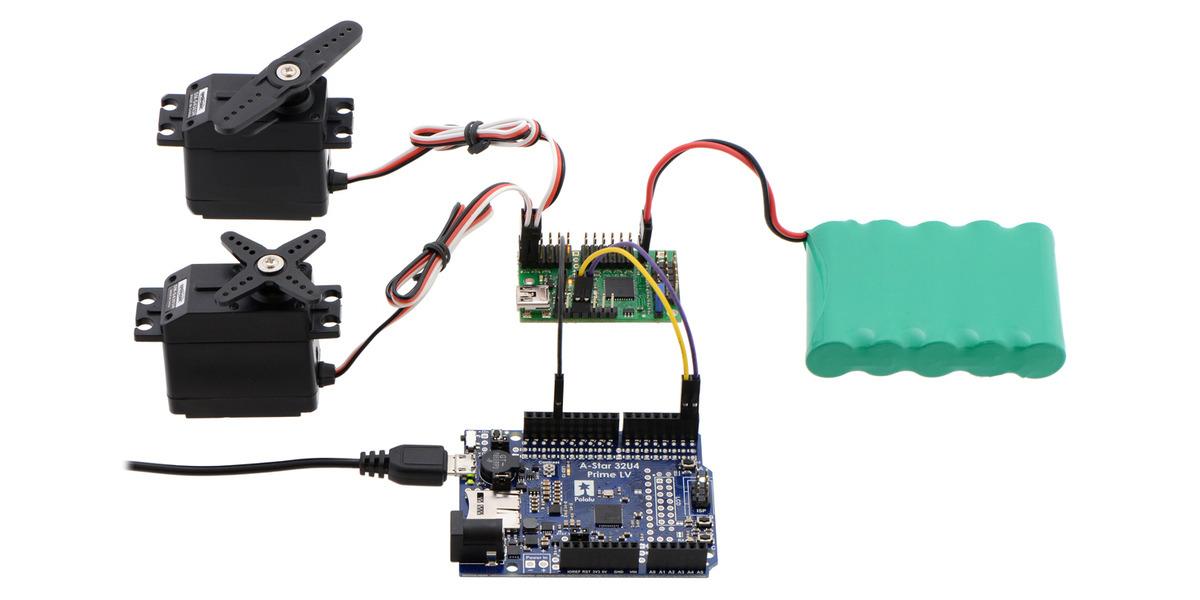 software serial arduino servo code