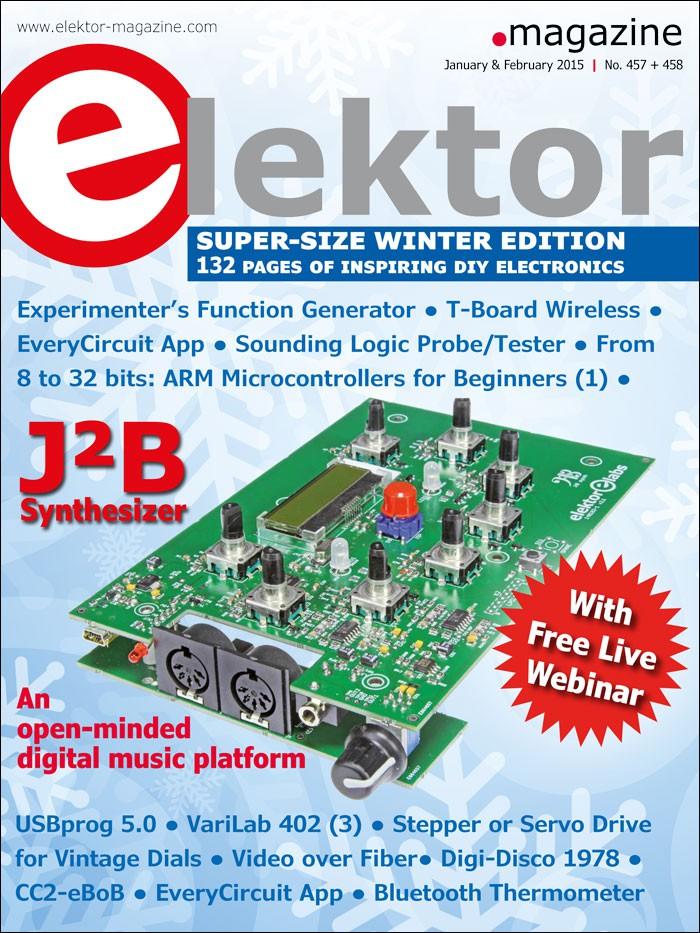 Pololu - Free Elektor magazine January/February 2015