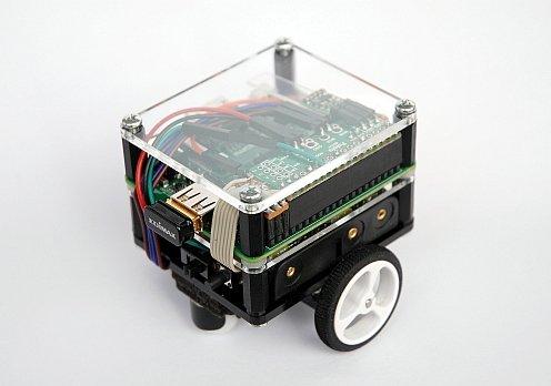 PiBot-A: mobile robot with a Raspberry Pi