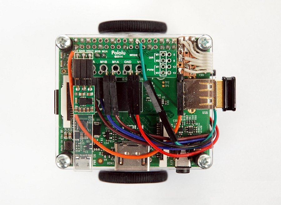 Prime Pololu Pibot A Mobile Robot With A Raspberry Pi Wiring Cloud Cosmuggs Outletorg