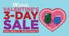 Valentine's 3-Day Sale