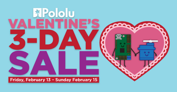 Valentine's 3-Day Sale