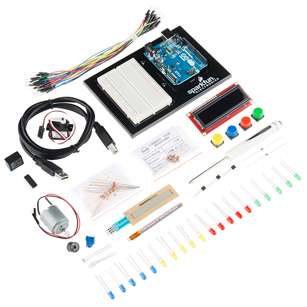 New Product: SparkFun Inventor's Kit (for Arduino Uno)