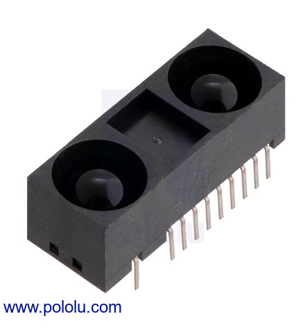 5V 2475 Pololu Carrier for Sharp GP2Y0A60SZLF Analog Distance Sensor