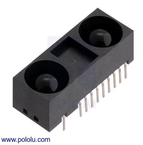 New product: Sharp GP2Y0A60SZLF Analog Distance Sensor