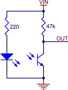 Pololu Qtr 1a Reflectance Sensor