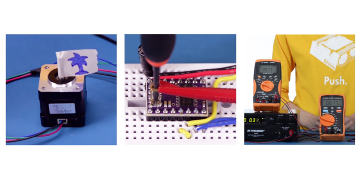 Pololu - Video: Setting the Current Limit on Pololu Stepper Motor