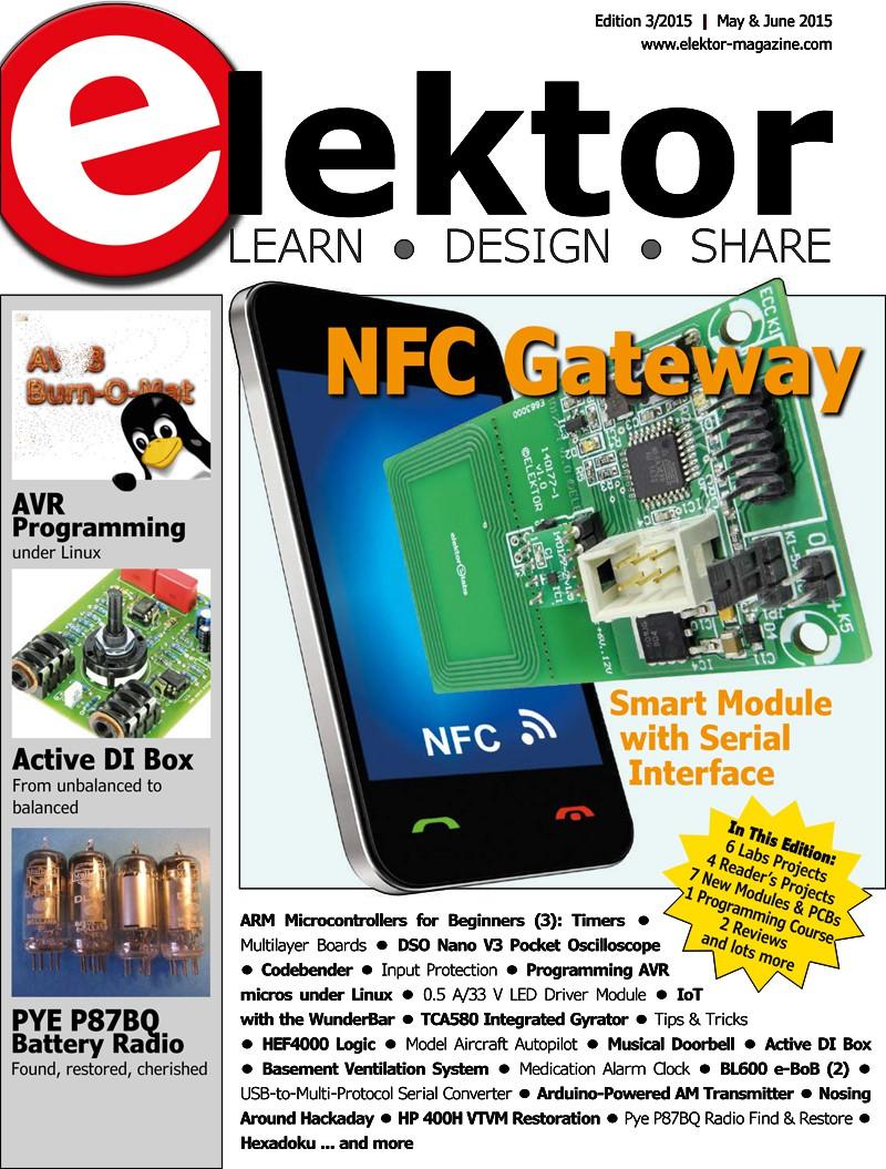 Pololu - Free Elektor magazine May/June 2015