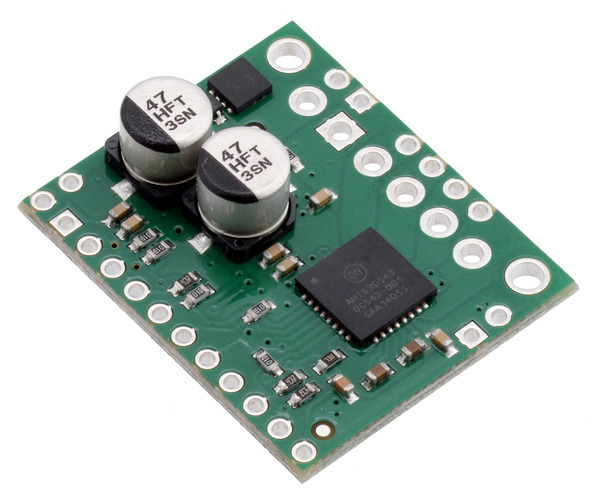 New high-current stepper driver carrier with SPI: AMIS-30543