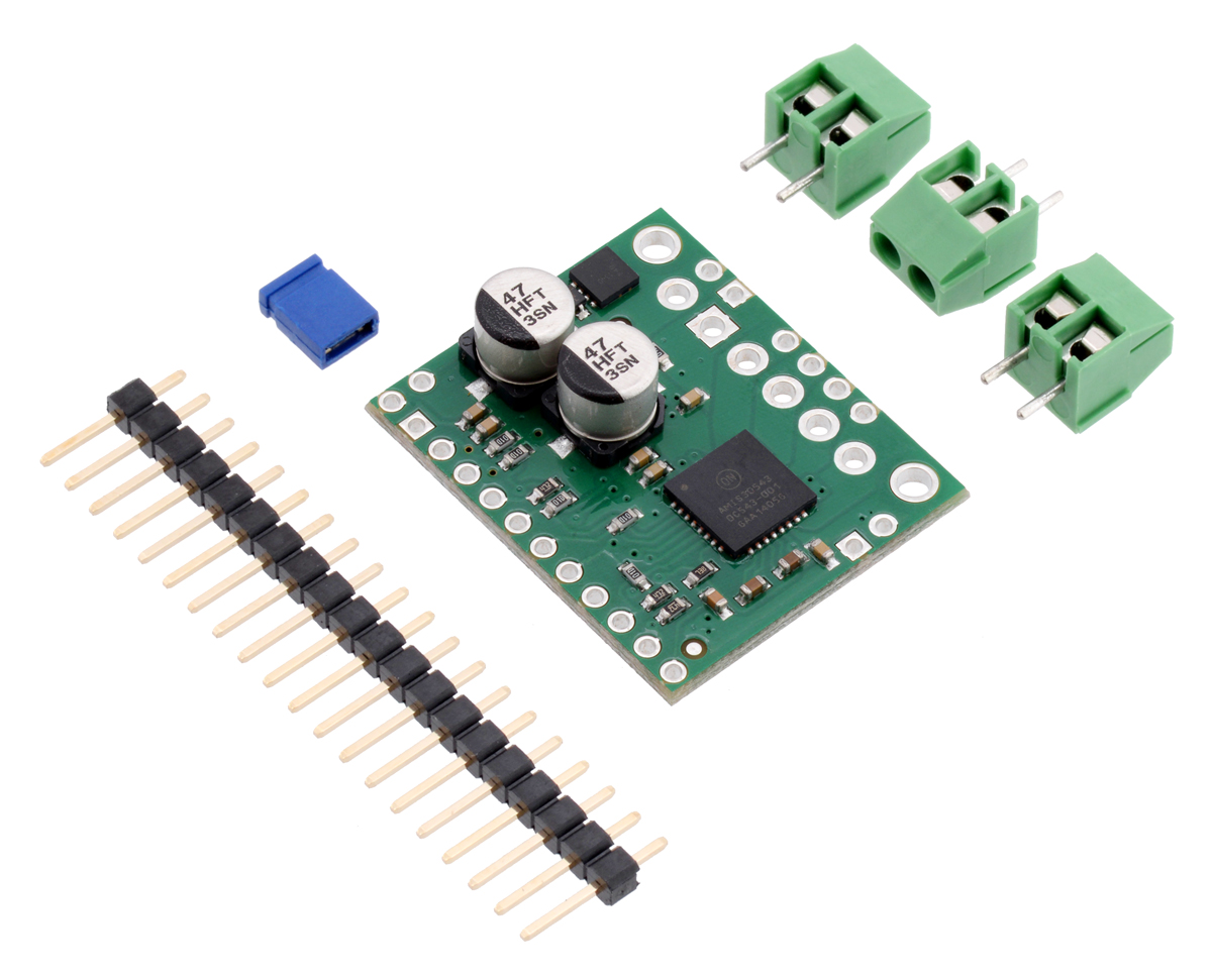 Pololu Amis 30543 Stepper Motor Driver Carrier Controller Circuit Diagram On Step Wiring Overview