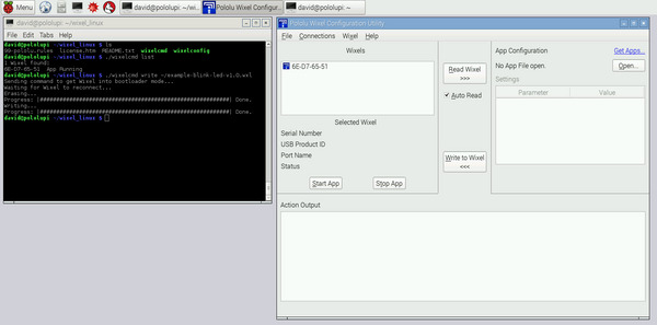 Wixel software now works on the Raspberry Pi