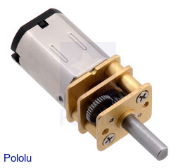 New 12 V micro metal gearmotors