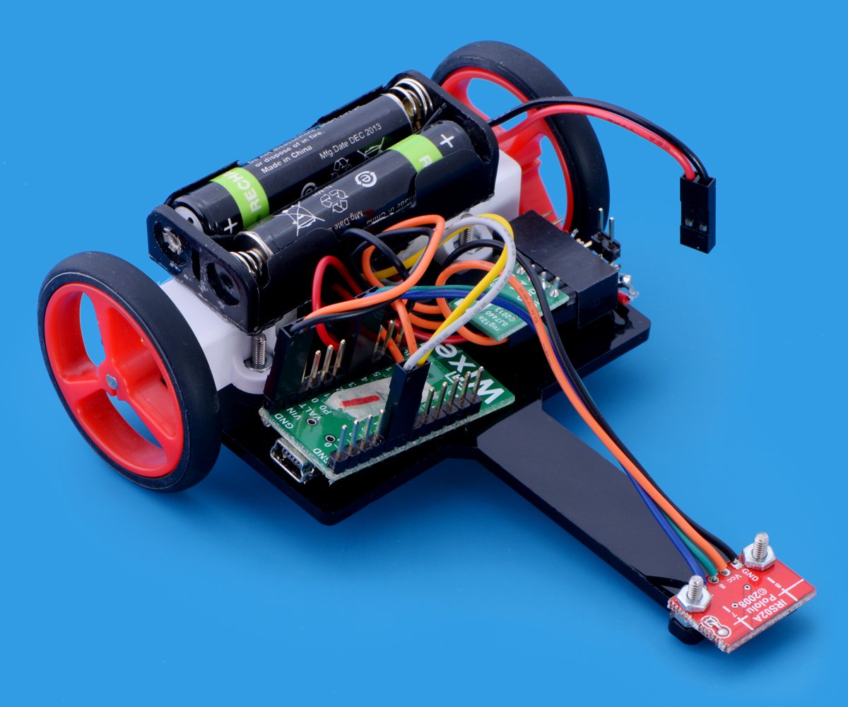 Pololu Pauls Wixel Based Line Following Robot Two Point Four Follower Circuit