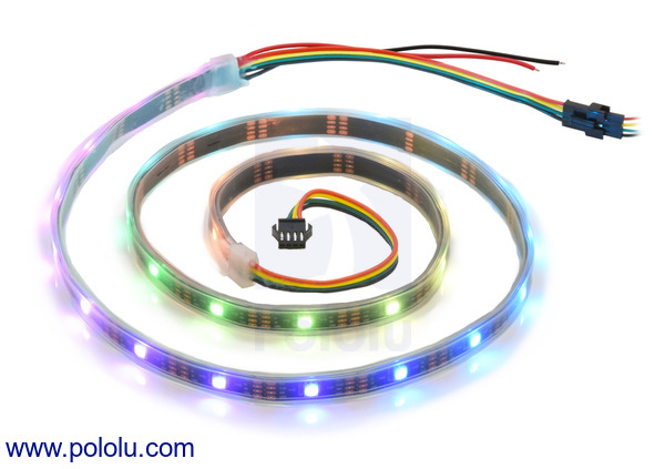 New products: APA102C-based addressable RGB LED strips