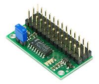 Pololu RC Servo Multiplexer 4 Channel rcm01a (assembled)