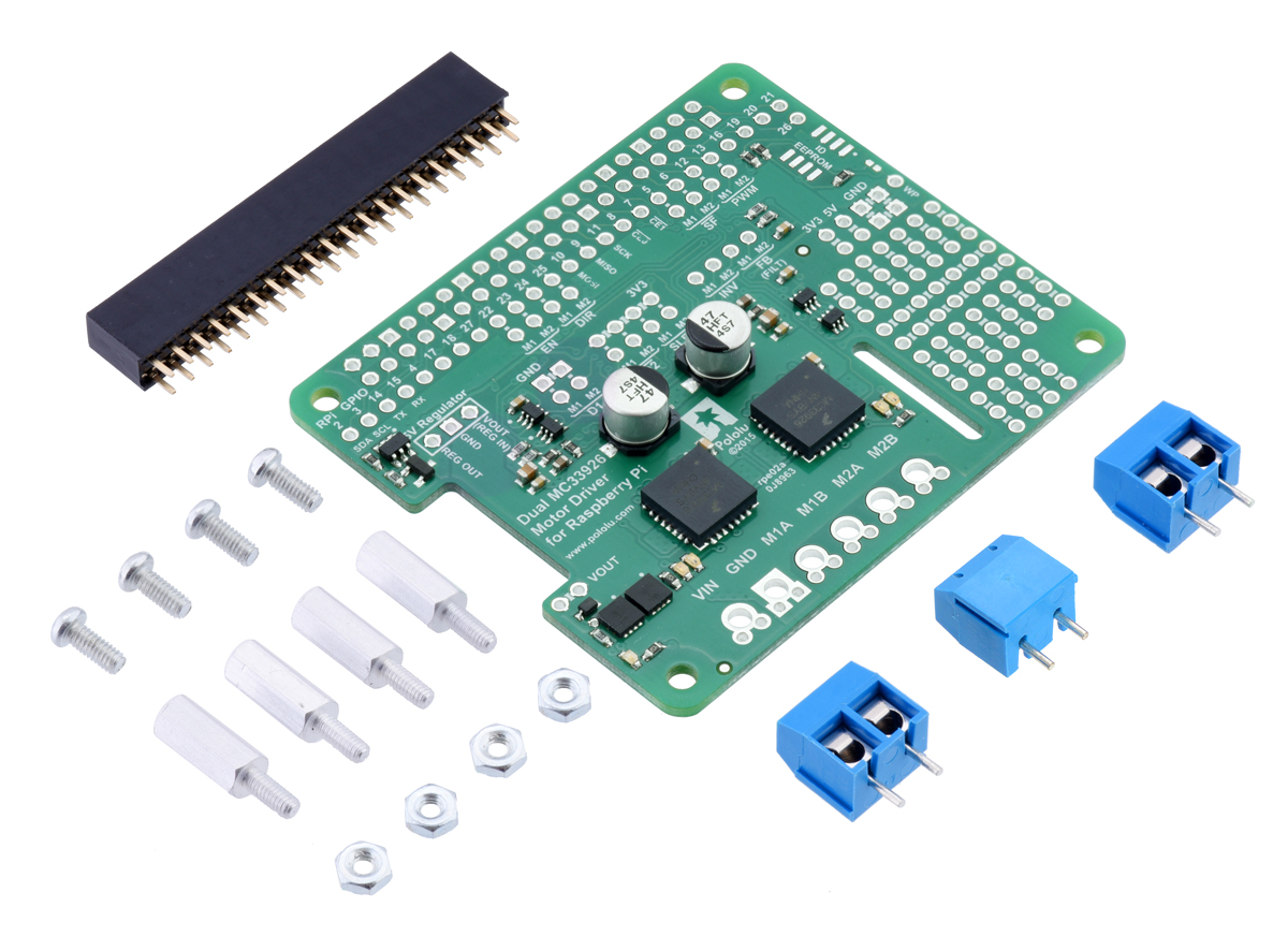 0J6595.1200?64dc9837f1d2ca4112bf3f64fdd24253 pololu dual mc33926 motor driver for raspberry pi (partial kit)  at aneh.co