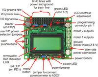 Orangutan LV-168 features (top view).