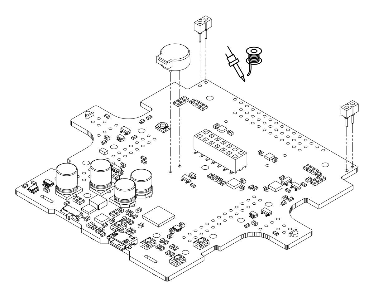 pololu 4 assembling the zumo 32u4 kit LED 4 Pin Wiring Diagram 4 assembling the zumo 32u4 kit