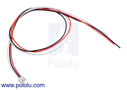 Cable for Sharp GP2Y0A51SK0F analog distance sensors now available