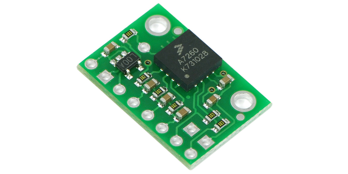 Pololu - MMA7260QT 3-Axis Accelerometer ±1 5/2/4/6g