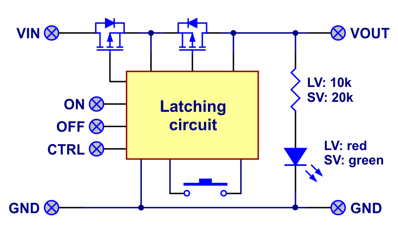 Latching Push Button Switch Schematic Symbol - Wiring Diagram For ...