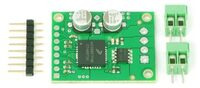 All parts included with the Pololu MC33887 Motor Driver Carrier.