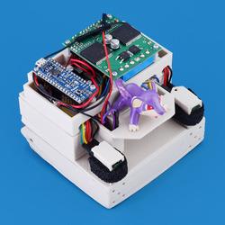 Grant's mini sumo robot: Rattata