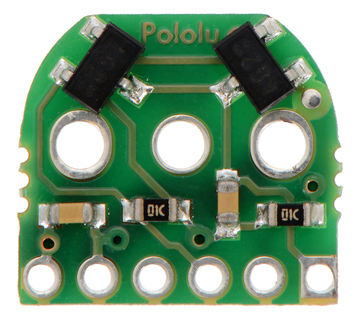 Pololu Magnetic Encoder Pair Kit For Micro Metal Gearmotors 12 7 Pole Wiring Diagram Old Version Not Compatible With Hpcb