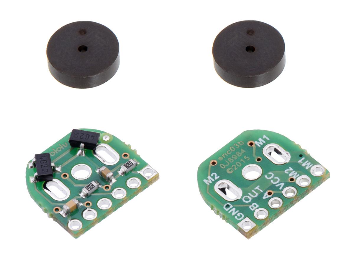 encoder 7 pole wiring diagram pololu magnetic encoder pair kit for micro metal gearmotors  12  pololu magnetic encoder pair kit for