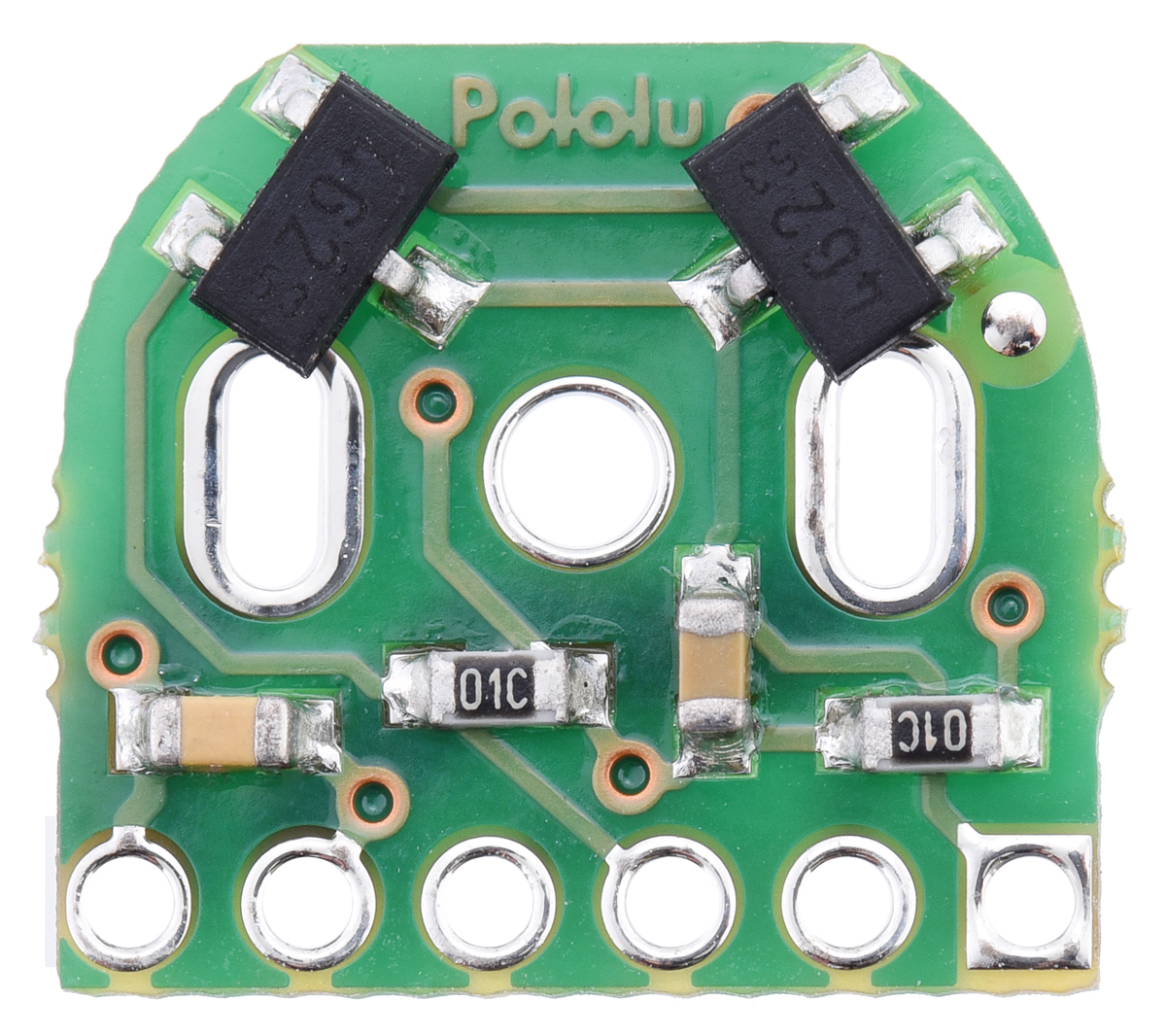 Pololu Magnetic Encoder Pair Kit For Micro Metal Gearmotors 12 Rotary Display Schematic Hpcb Compatible