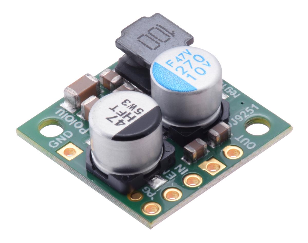 Pololu 75v 24a Step Down Voltage Regulator D24v22f7 Controlled Transistor Series