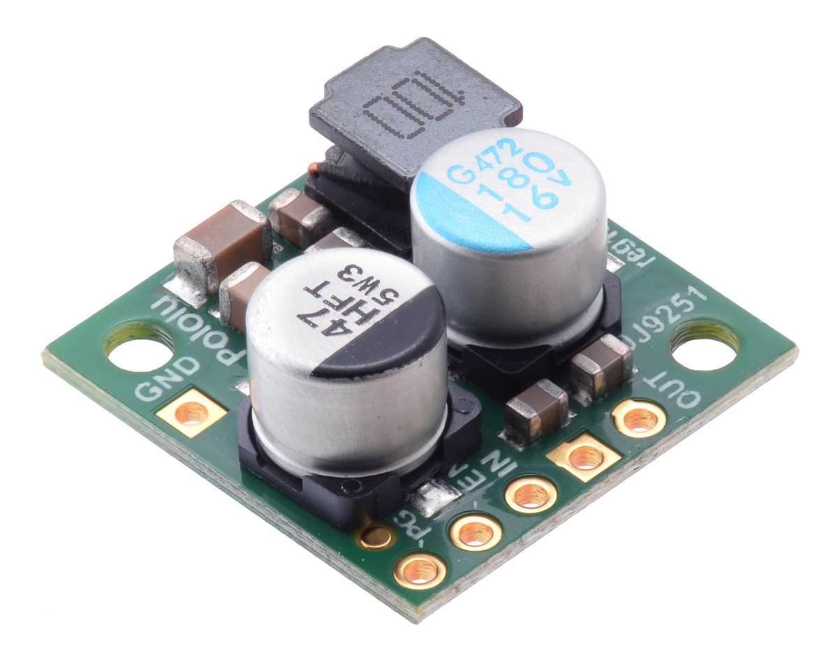 Pololu 9v 23a Step Down Voltage Regulator D24v22f9 Diagram Power Supply Circuit Regulated Votlage Micro Switching