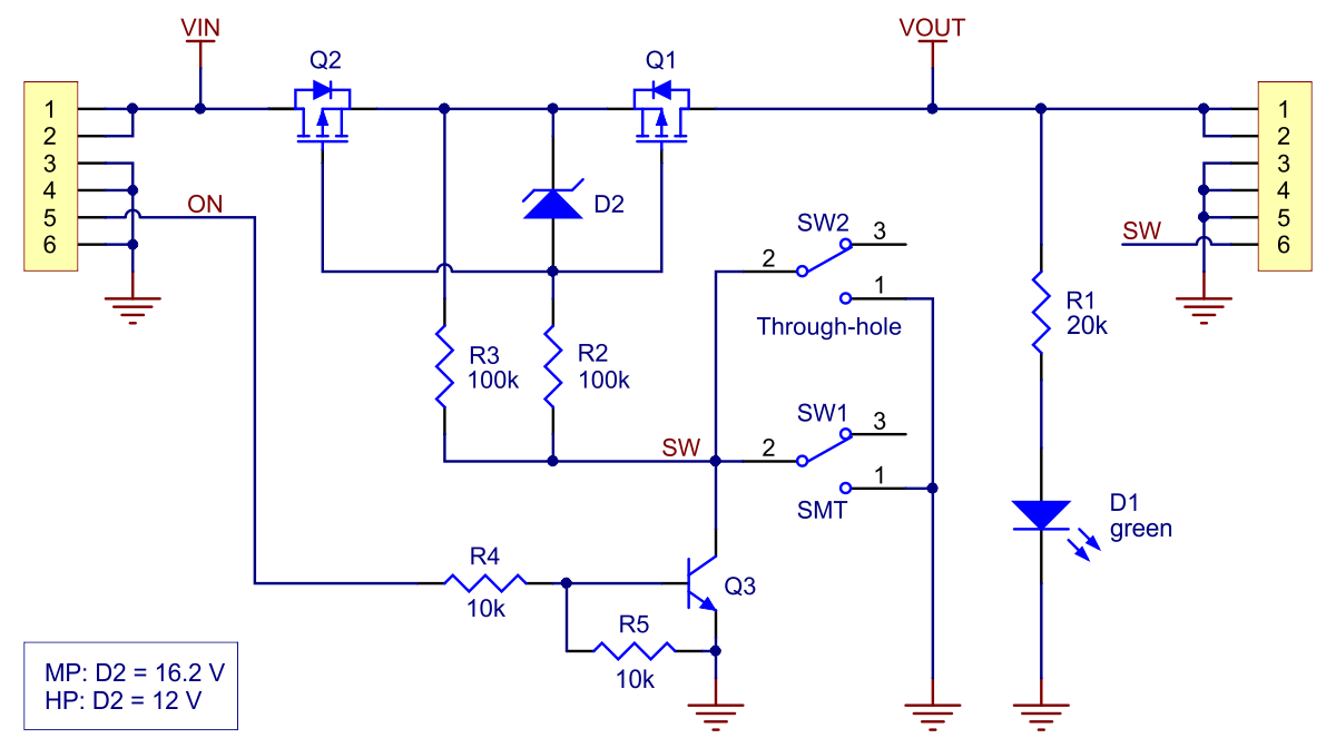 Slide Switch Diagram Reinvent Your Wiring 12 Volt Dpdt Of Pololu Schematic The Big Mosfet With Rh Com Spdt