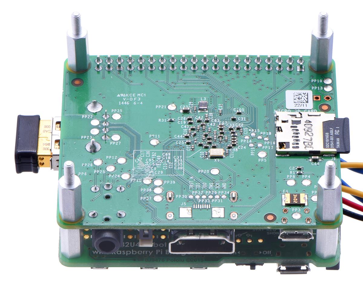 Pololu - Building a Raspberry Pi robot with the A-Star 32U4 Robot ...