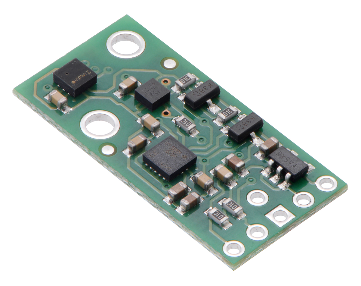 Pololu Altimu 10 V5 Gyro Accelerometer Compass And Altimeter Using Push Button Switch With Pic Microcontroller Mikroc Lsm6ds33 Lis3mdl Lps25h Carrier