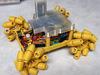 3D-printed mecanum wheel rover