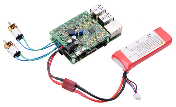 New product: A-Star 32U4 Robot Controller SV with Raspberry Pi Bridge