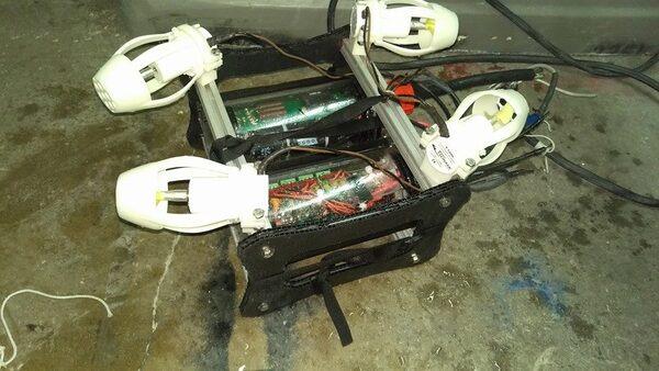 MSOE underwater robotics ROV