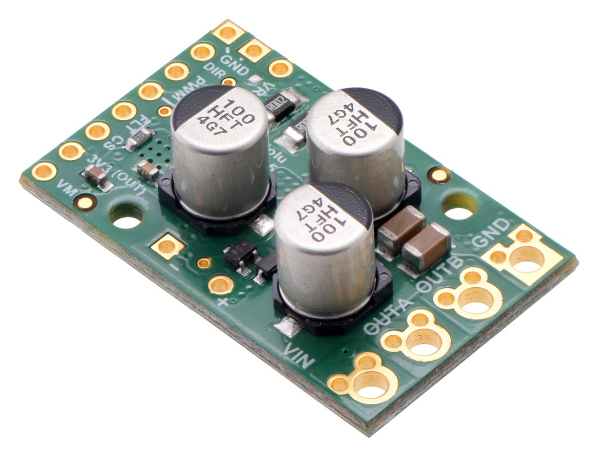 Pololu G2 High Power Motor Driver 24v21 Bridge Pwm Amplifier It Is Such A Complete Hbridge